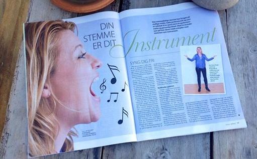 Gitte Degn Calstrup - Ugebladet Sondag