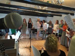 Sommerkor i Sanghuset 1